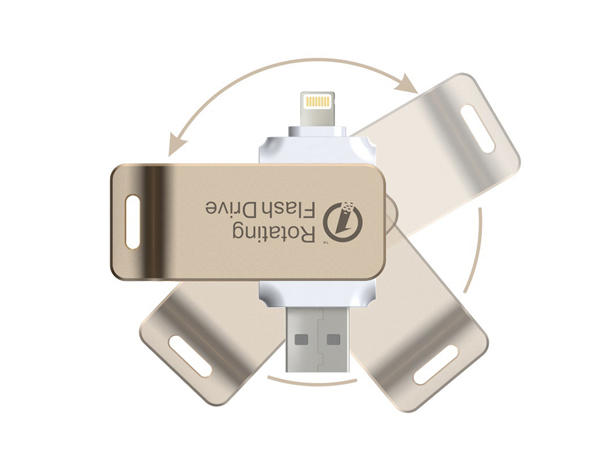 Roation Flash Drive